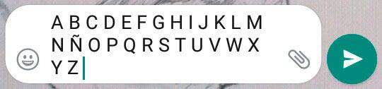 Copiar y pegar en whatsapp
