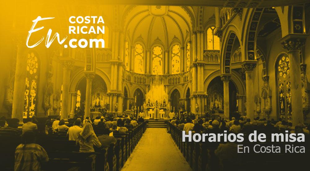 Horarios de misa en Costa Rica