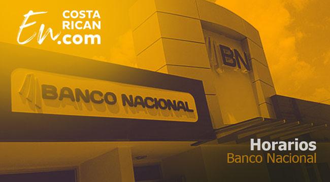 Horarios Banco Nacional