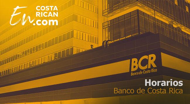 Horarios-Banco de Costa Rica