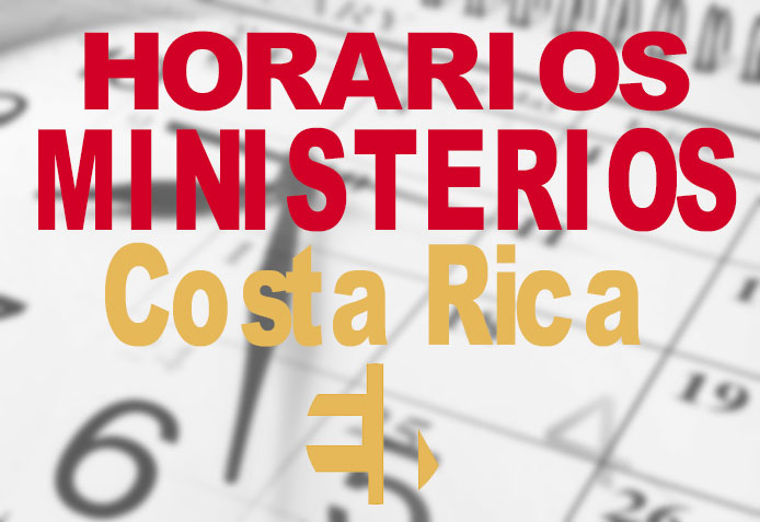 Horario-Ministerio de Costa Rica